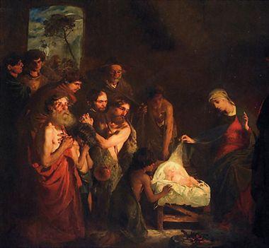 """REMBRANDTS """"HYRDENES TILBEDELSE"""" (1646)"""