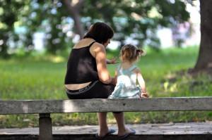 TID TIL BARN: Hvorfor finner vi oss i dette? spør Lise Christensen. – Jeg er blitt nedverdiget til å la meg bli avhengig av livsledsager eller Nav fordi jeg mener det eneste rette er å være fulltids mor for barn i minimum barnets to første leveår. ILLUSTRASJONSFOTO: COLOURBOX.COM